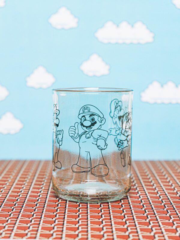 super mario vasos